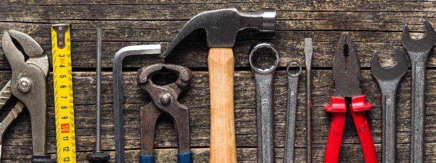 In-editor tool design