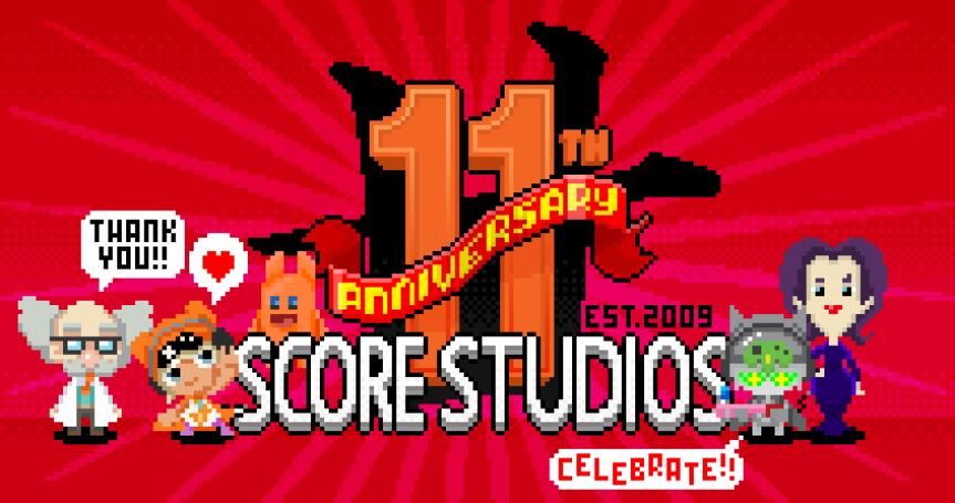 Score Studios' 11thAnniversary